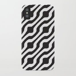 Marvin (white on black) iPhone Case