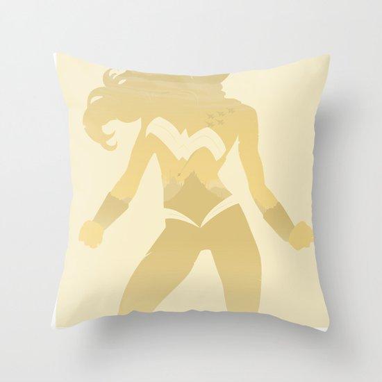 Amazon Princess Throw Pillow