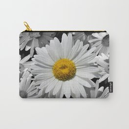 Cheerful Daisy Flower A197 Carry-All Pouch