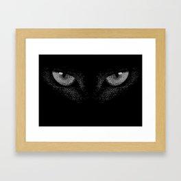 i'm watching you Framed Art Print