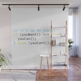 You Can Wall Mural