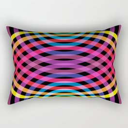 Ripple pattern Rectangular Pillow