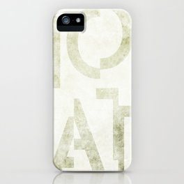 Moscato Wine Typography iPhone Case