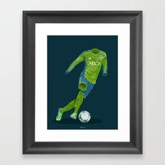 Seattle Sounders 2013 Framed Art Print