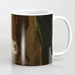 Joseph Wright of Derby - Penelope Unraveling Her Web Coffee Mug