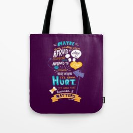 """Maybe there's something..."" Tote Bag"