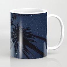 Palm Trees, Night Sky, Stars, Moon Mug