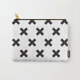 X black Carry-All Pouch