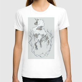 Wolf tattoo sketch.2 T-shirt
