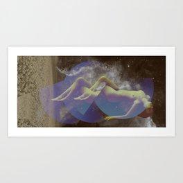 STELLAR WOMAN 004 Art Print