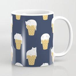 Meowlting Pattern Coffee Mug