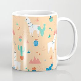 Summer Llamas Coffee Mug