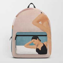 At the pool Backpack