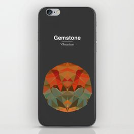 Gemstone - Vibranium iPhone Skin
