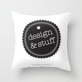 Design and Stuff Throw Pillow