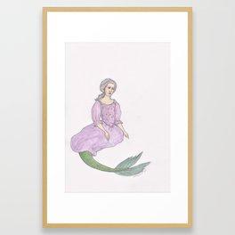 Sjöjungfrun Framed Art Print