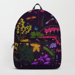 Flowers and insects Backpack