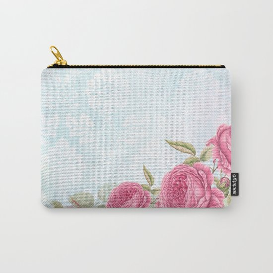Pretty vintage roses #3 Carry-All Pouch