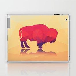 Geometric buffalo Laptop & iPad Skin