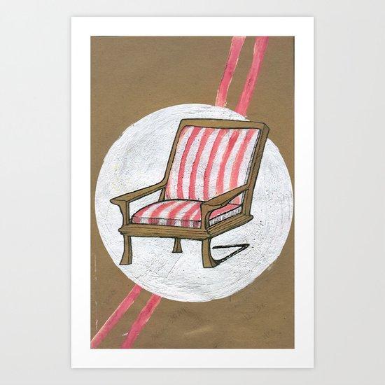 Left Chair Art Print