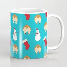Christmas Corgi Butts Coffee Mug