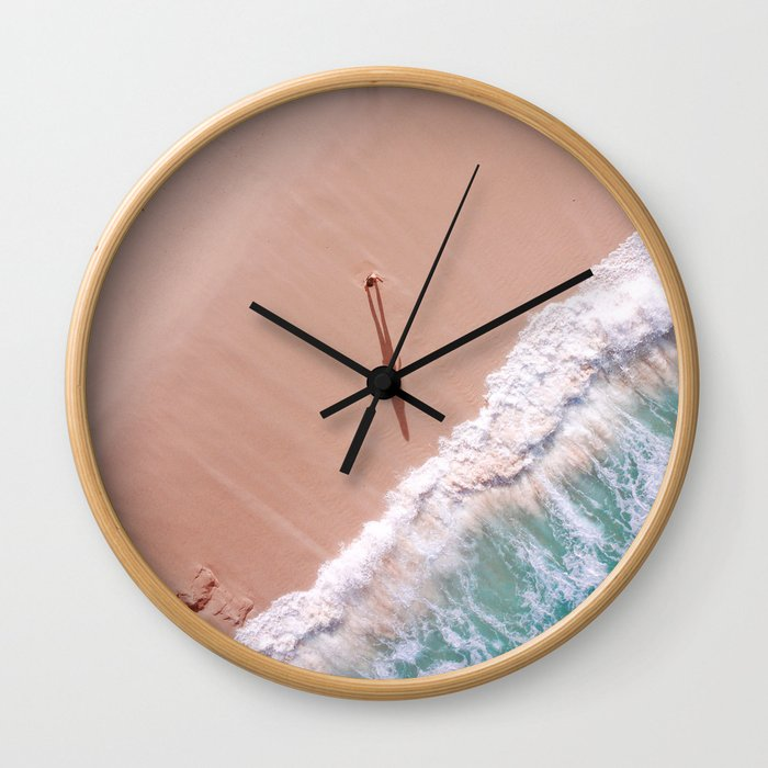 Morning sea Wall Clock