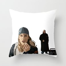 Jay and Silent Bob, Clerks 2 Throw Pillow