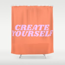 create yourself Shower Curtain