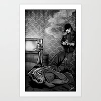 The Things We Do For Money Art Print