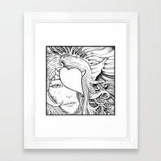 Gorgone Framed Art Print