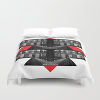 math Duvet Covers featuring MATH & IMAGERY by Marco Cherfêm