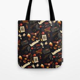 """Twin Peaks"" Pattern Design Tote Bag"