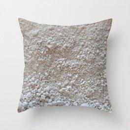 Blanco Absoluto Throw Pillow