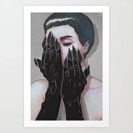 Demon Hands Art Print