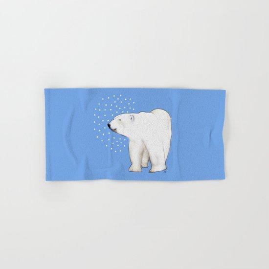 Polar Bear #8 Hand & Bath Towel