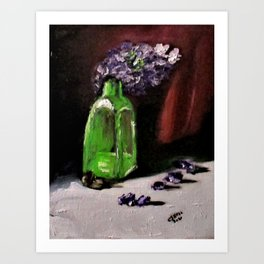 Bottled Purple No2. Art Print