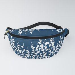Pussywillow Silhouettes — Midnight Blue Fanny Pack