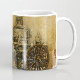 Vintage Fire Engine Coffee Mug