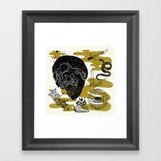 Planet Oblivion Framed Art Print