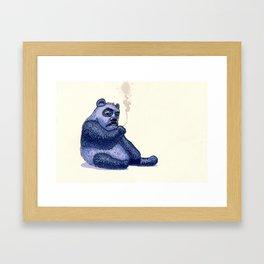 Bad dream Framed Art Print