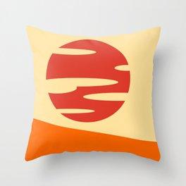Samurai Champloo- Sunset Throw Pillow
