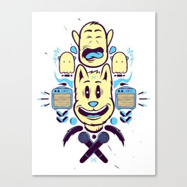 Partytime Canvas Print
