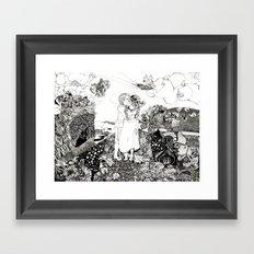 The Wedding Framed Art Print