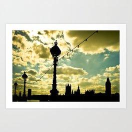 Westminster Parliament Art Print