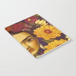 Frida Flowers Notebook