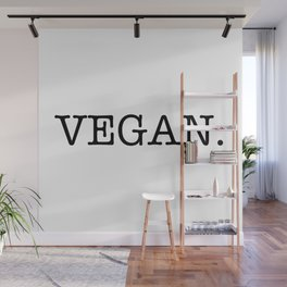 VEGAN. Wall Mural