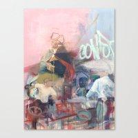 washington Canvas Prints featuring Washington by Alex Jackson