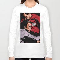 tyler durden Long Sleeve T-shirts featuring Hello I'm Bob/ fight club/ tyler durden by Bearded Bastard