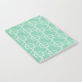 Bubble Pattern Mint #homedecor Notebook