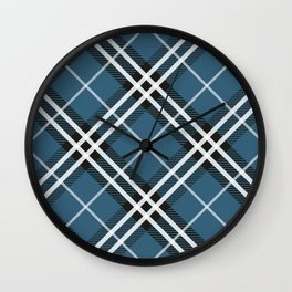 Blue Saint Andrew. Wall Clock